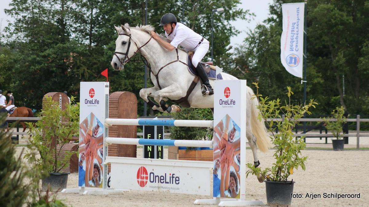 Michiel Brusse won met Evinent de Z-rubriek. foto: Arjen Schilperoord