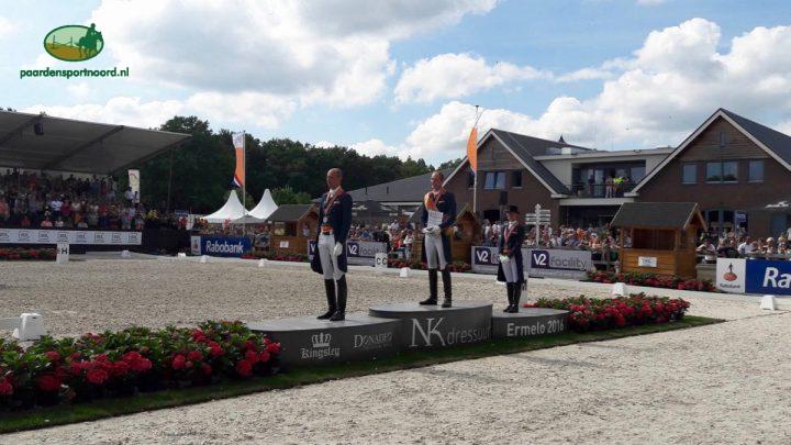 Staande ovatie voor dressuurkampioen Diederik van Silfhout