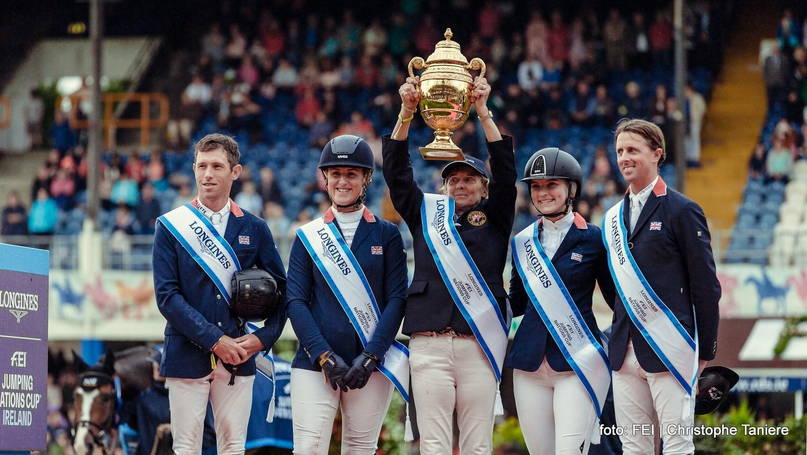 Nederlandse springruiters met lege handen in Nations Cup Dublin