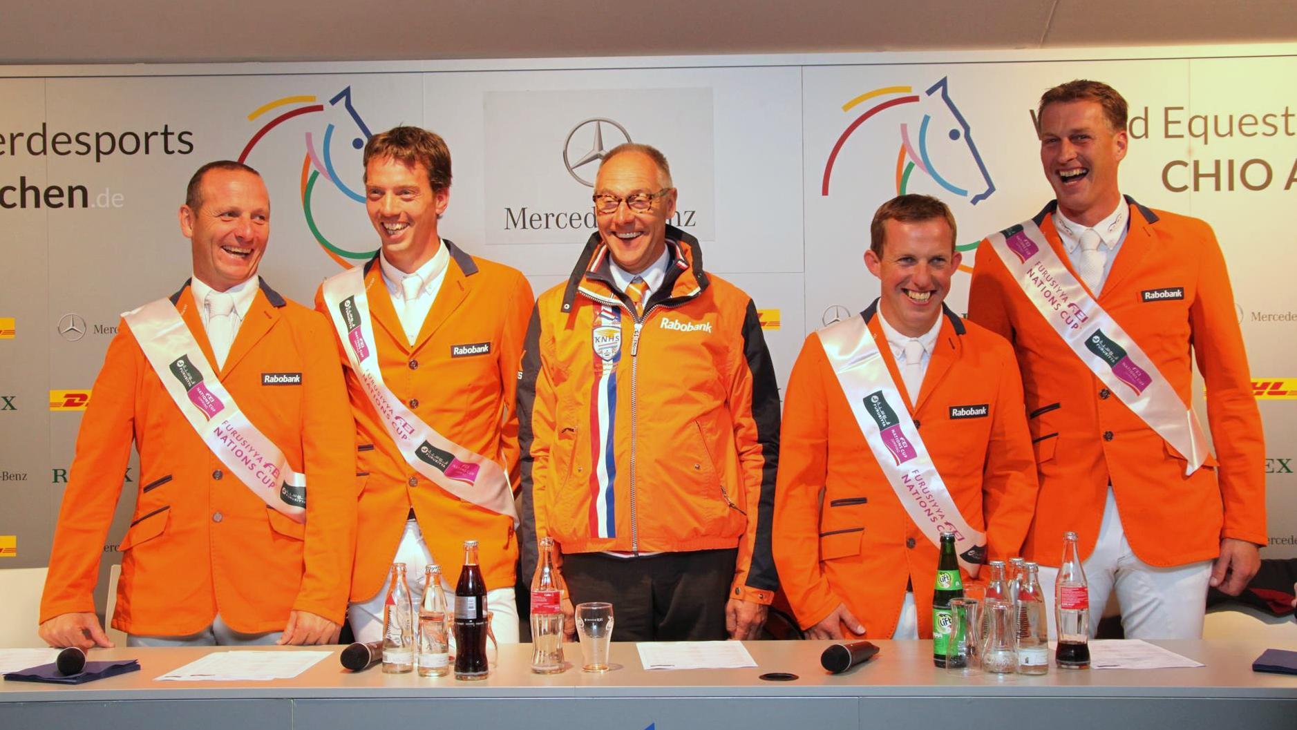 CHIO Aken Nederlandse springruiters