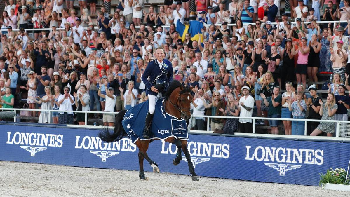 Peder Fredricson wint voor eigen publiek Grote Prijs Stockholm