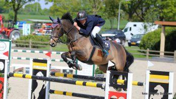Piet Raijmakers jr. scoort op Paardensportcentrum Lichtenvoorde