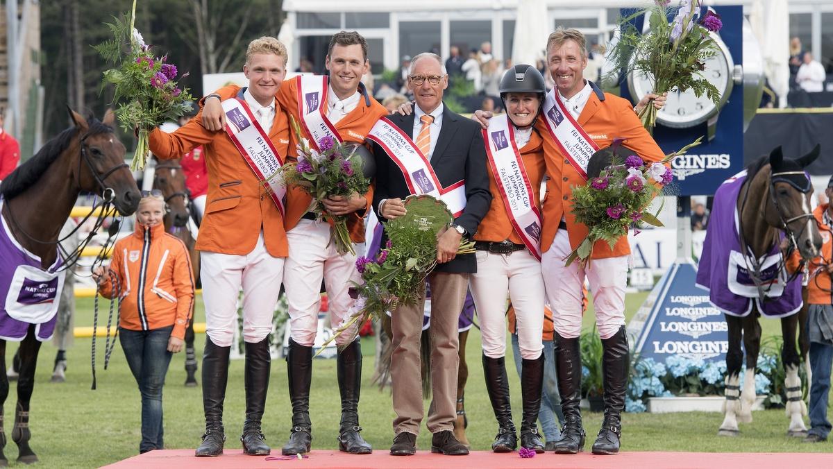 Jur Vrieling leidt Nederland naar zege in Nations Cup Falsterbo