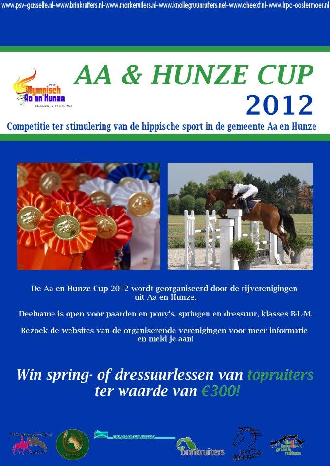 Zes verenigingen organiseren Aa en Hunze Cup
