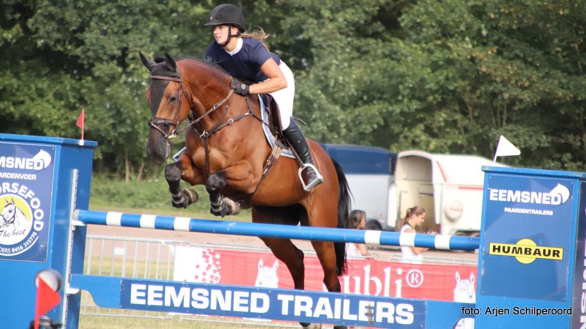 Rianne Visscher met Galerno Gronings kampioen in ZZ-klasse