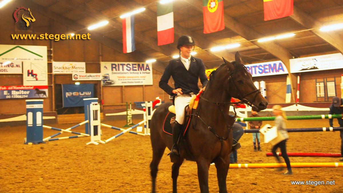 Robert Havinga pakt zege op EDR-concours Winschoten