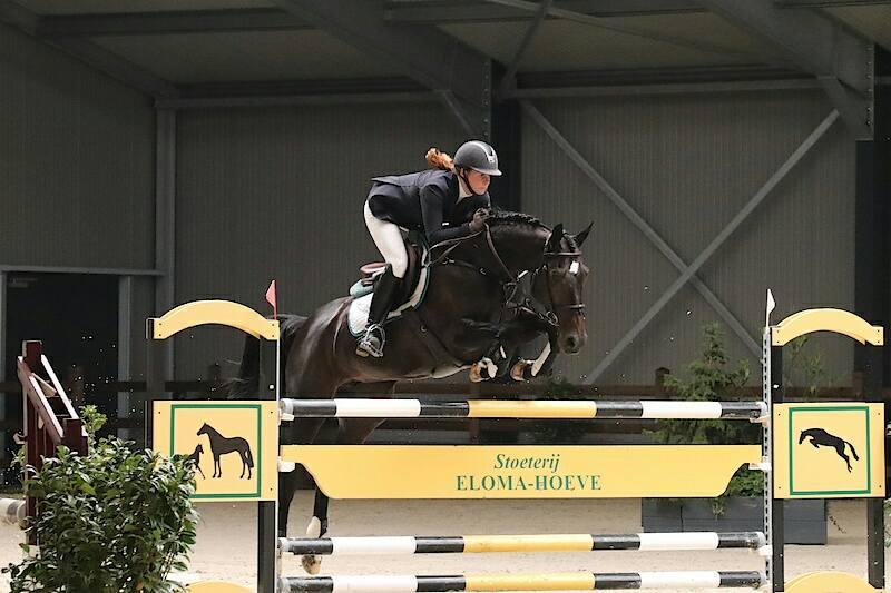 Romy Froma en Xanne Sluyter sterk op EDR-concours