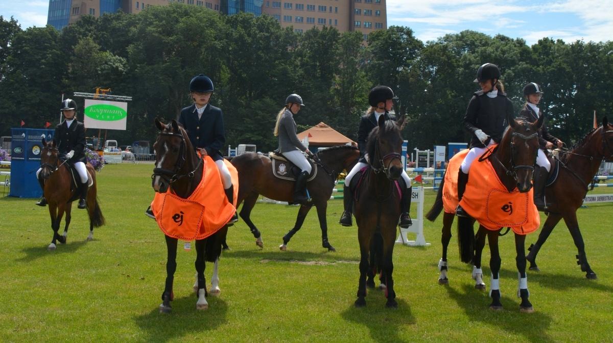 De Groninger kampioenschappen zijn ook dit jaar weer in het Stadspark in Groningen. foto: KNHS Groningen