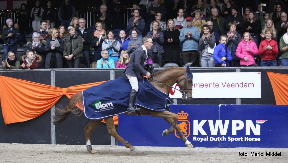 Mooie sport en volle tribunes bij hengstencompetitie Zuidbroek