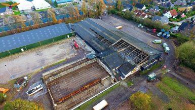 Dak er af bij Stroomruiters Beilen, club investeert fors in accommodatie