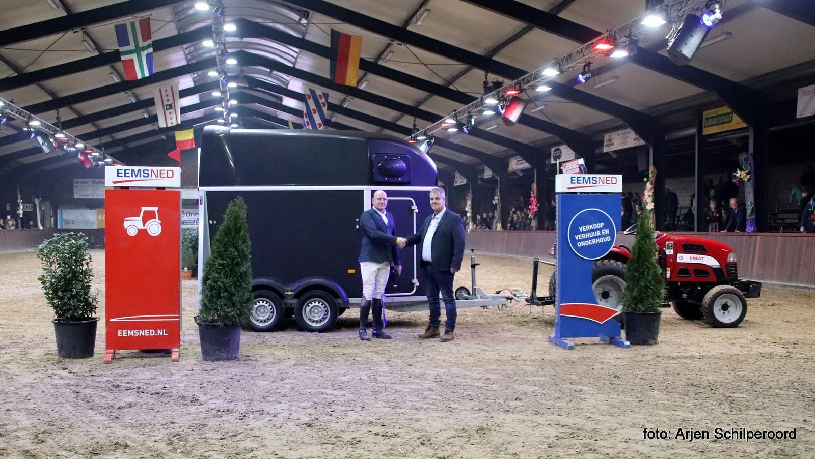 Albert Zoer klopt Jur Vrieling in Grote Prijs Indoor Tolbert
