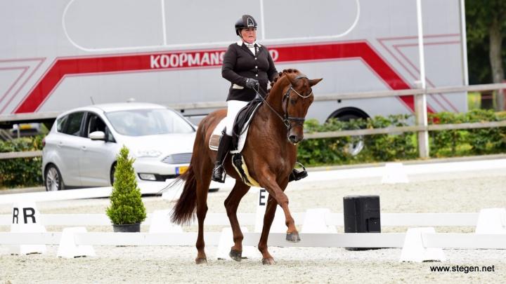 Trea Mulder-Dolsma slaat eerste slag op Drents kampioenschap