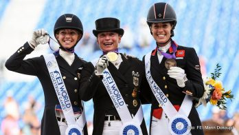 Tryon: Goud voor Isabell Werth in Grand Prix Special, Edward Gal zevende