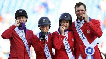 Wereldruiterspelen: goud voor Amerikaanse springruiters, Nederland vijfde
