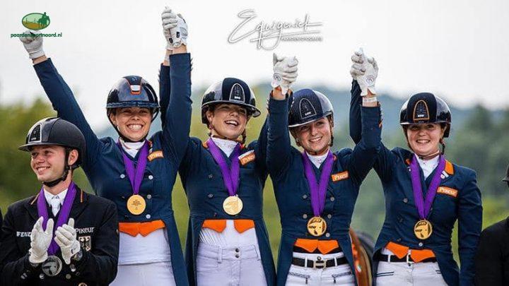 Ook U25-team pakt goud op EK in Hongarije