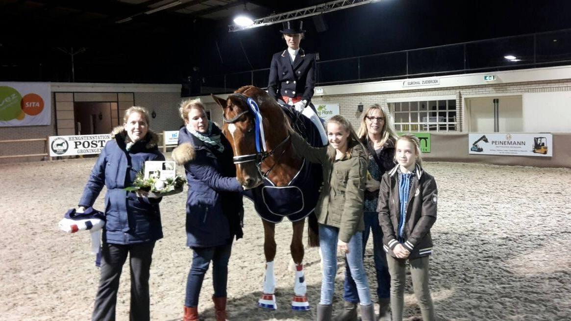 Marjan van der Jagt en Vai Bruntink domineren op Indoor Groningen