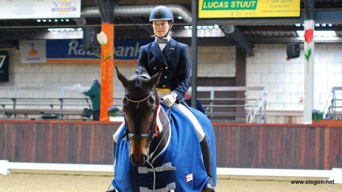 Veronique Roerink won met Calibre de lichte tour op het CH Groningen (archieffoto)