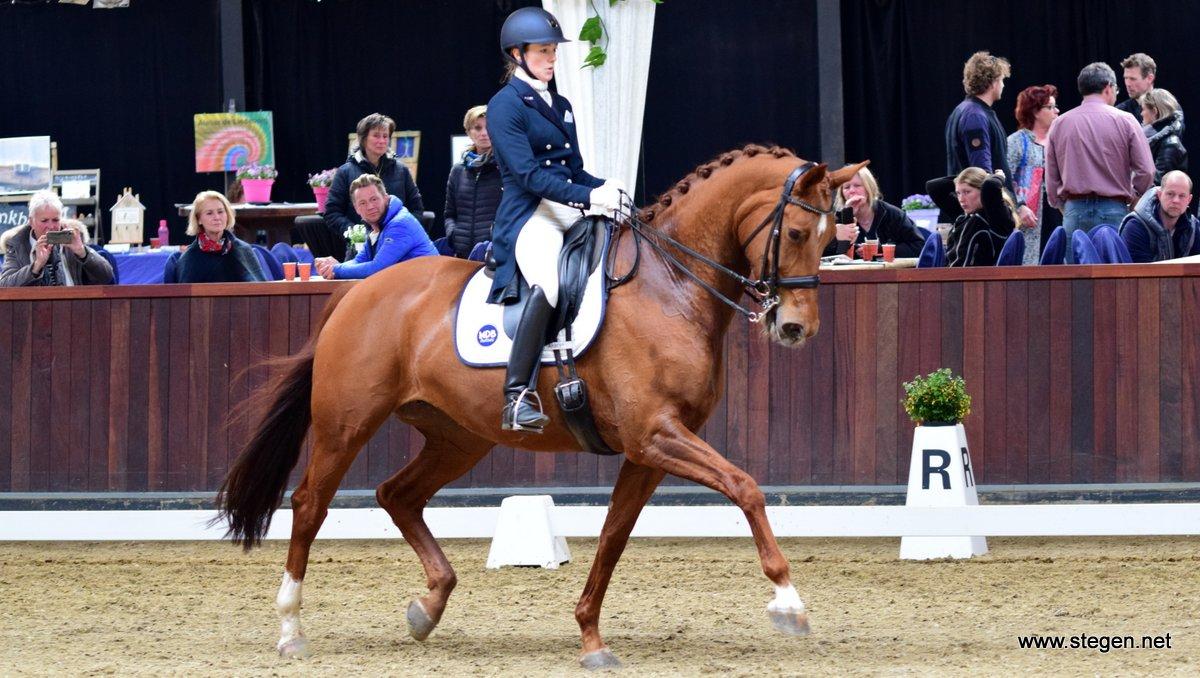 Veronique Roerink schrijft bij Indoor Tolbert ook Prix St. Georges op haar naam