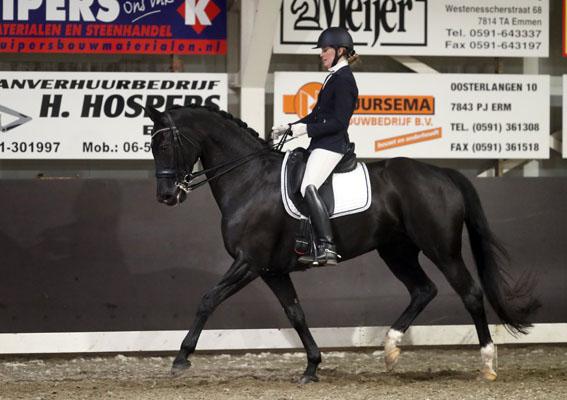 Veronique Roerink Drents kampioen met Hera-Utopia