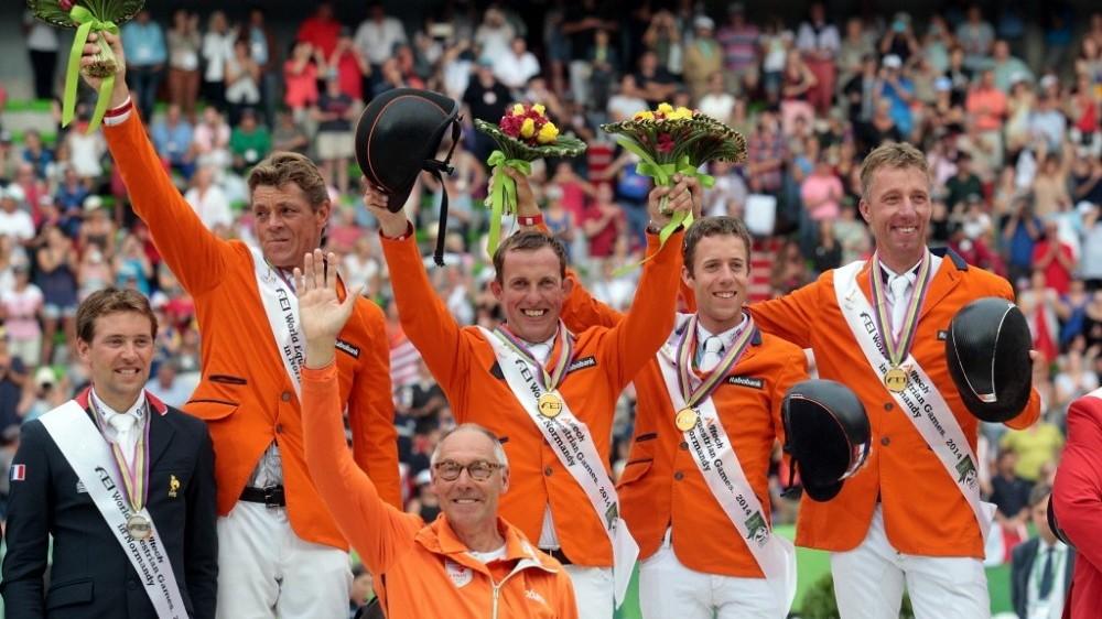 WEG: Nederlandse springruiters imponeren met GOUD!
