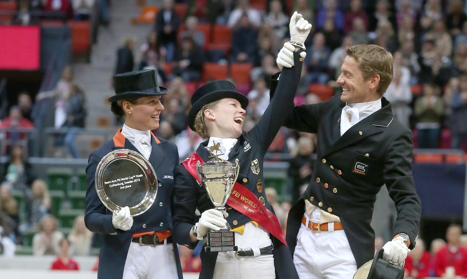 finale wereldbeker dressuur Adelinde Cornelissen