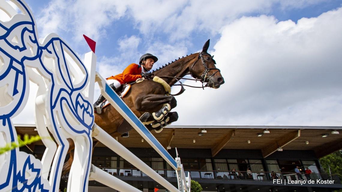 Willem Greve alsnog vast lid in team springruiters Olympische spelen