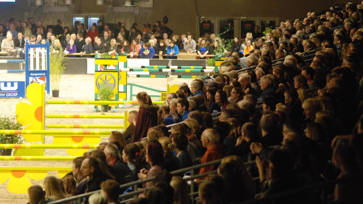 Er was opvallend veel belangstelling voor Indoor Groningen. ©Steven Stegen