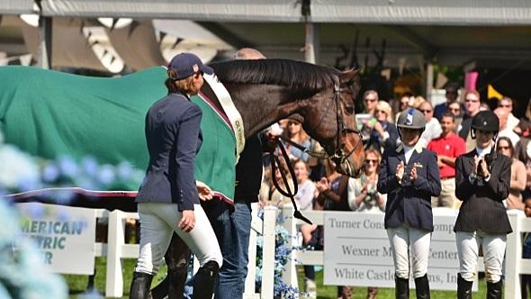 Het afscheid van Authentic. ©Becky Bartosz/HorseJunkiesUnited