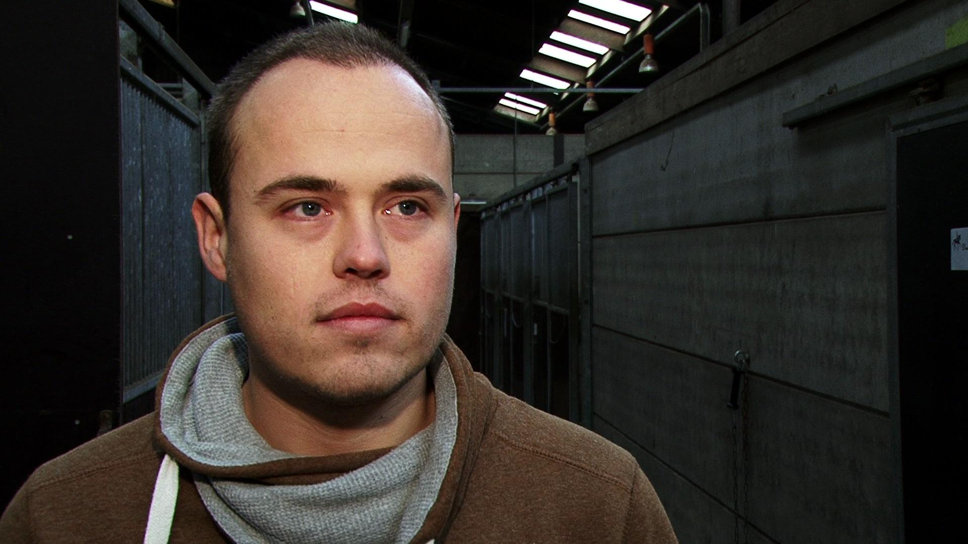 Rick Eibergen is na brand de held van de manege in Exloo