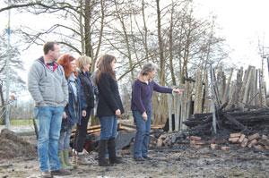 Hulp voor door brand gedupeerde Radboudruiters