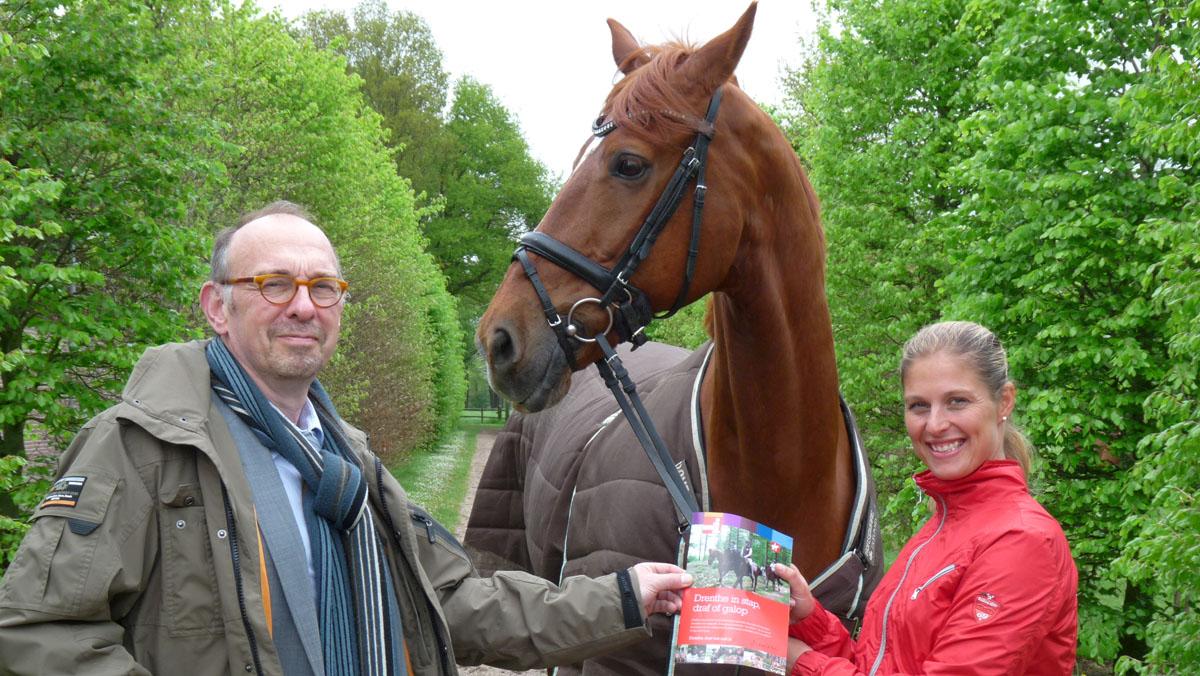 Adelinde Cornelissen brochure ruiterroutes Drenthe