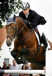 Angelique Hoorn reed sterk met O'Brien.