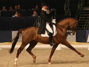 Hans Peter Minderhoud won met IPS Tango. ©Roos Meertens