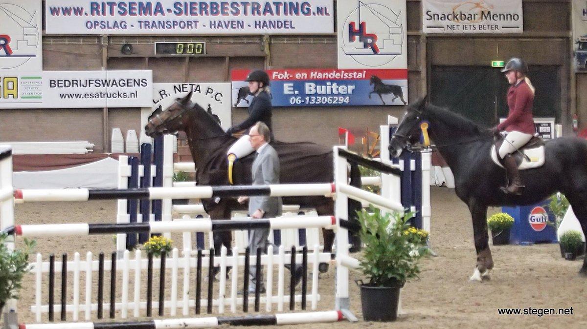 Nienke Eendhuizen toont topvorm tijdens EDR-concours Winschoten