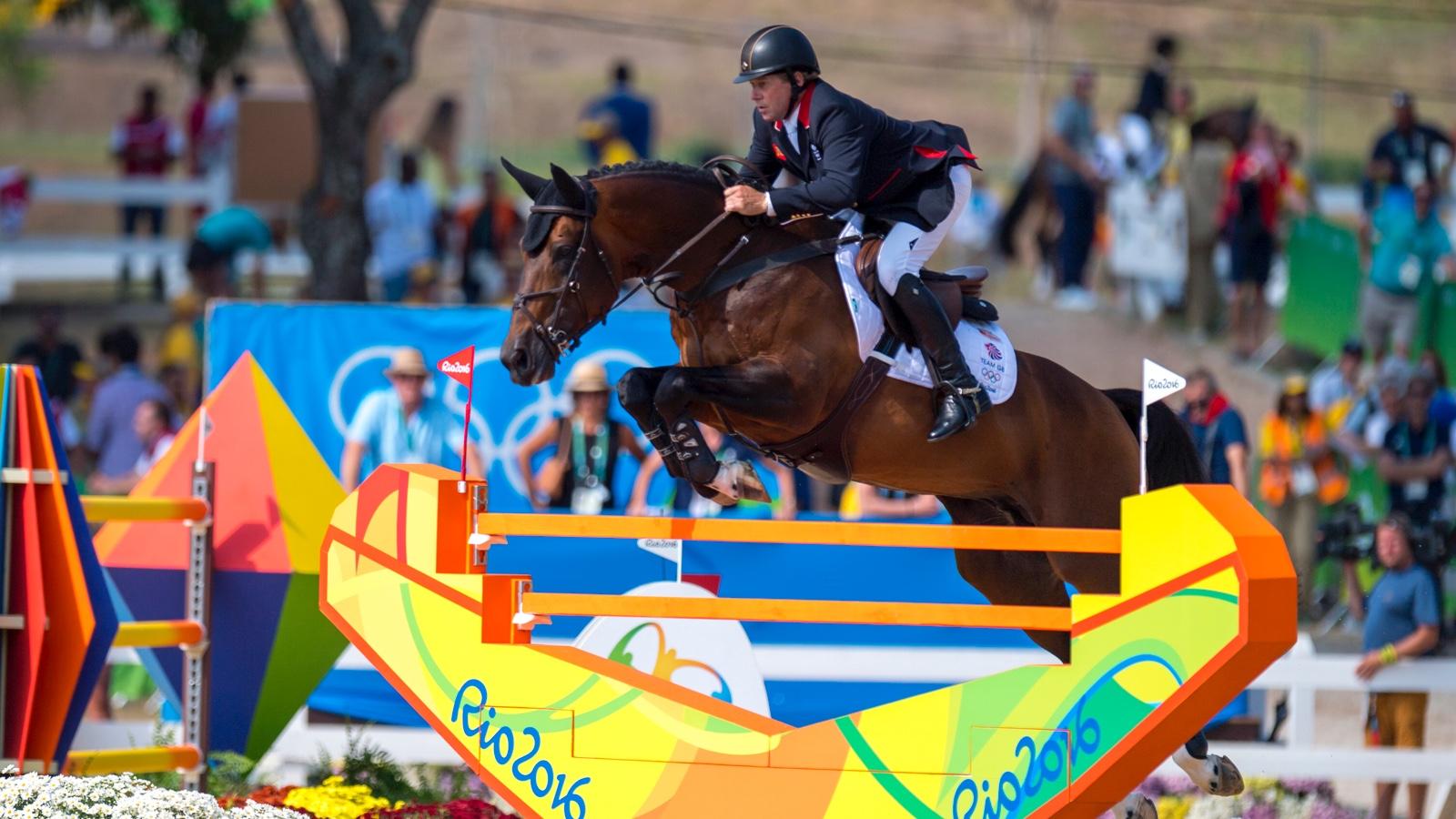 Nick Skelton Olympisch kampioen, Jeroen Dubbeldam mist barrage