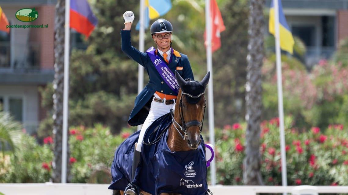 Marten Luiten wint ook kür op EK en pakt derde gouden medaille