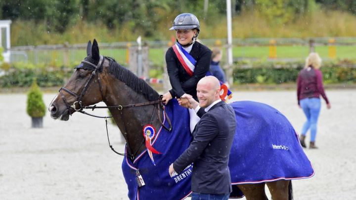 Anne Bakker Z-kampioen Drenthe, Albert Zoer wint 1.30