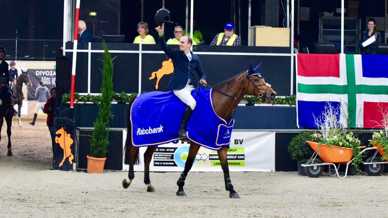 Daan van Geel wint bij Indoor Groningen zijn eerste Grote Prijs