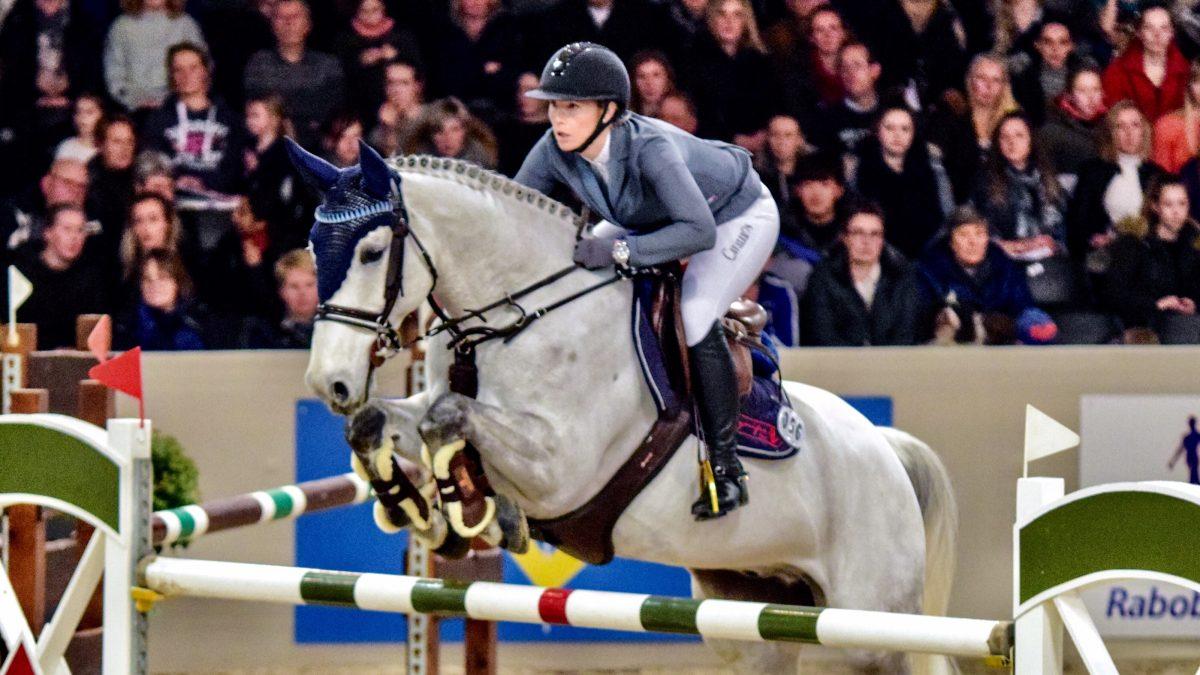 Jennifer Pedersen met Didam. Indoor Drachten