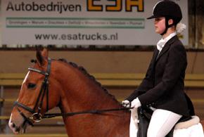 Iris de Haan was de beste in de M1. ©draversfoto.nl