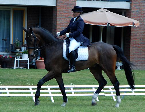 Jarmilla Peterson met haar Z2-paard Don Chello. ©Steven Stegen