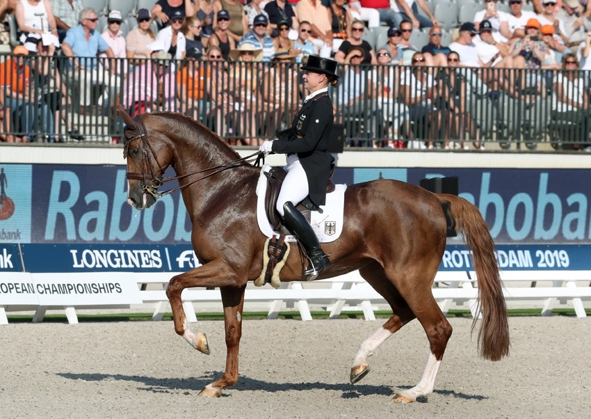 Isabell Werth Bella Rose EK Rotterdam