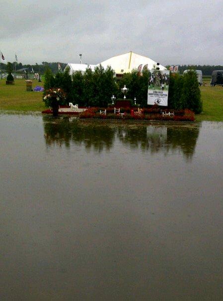 Kampioenschappen uitgesteld vanwege regen