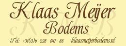 Klaas Meijer bodems