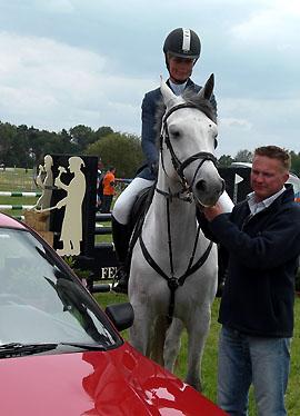 Hester Klompmaker won een gebruikte auto.
