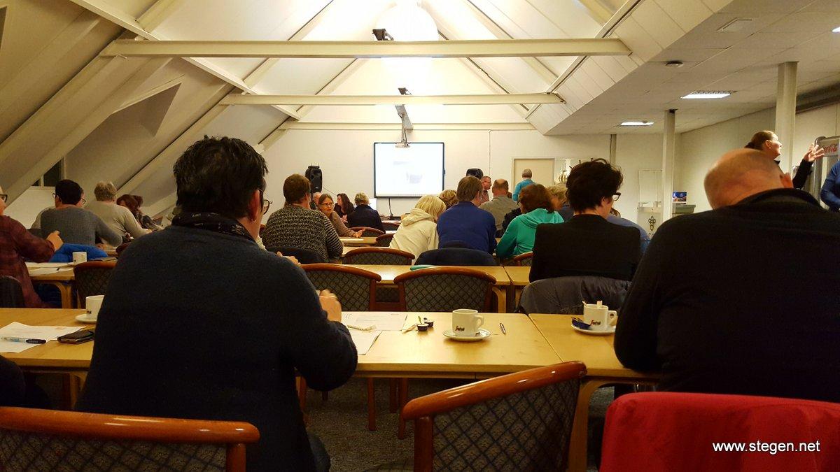 De ledenvergadering van de KNHS Drenthe in Assen.