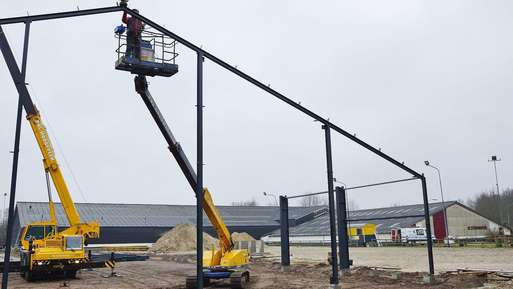 Nieuwe hal Stroomruiters op hoogste punt in week van uitersten