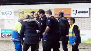 Lennard de Boer na valpartij Indoor Groningen: 'ik hoop snel weer in het zadel te zitten'