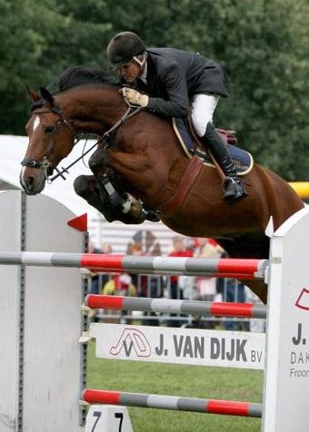Wiljan Laarakkers won de 1.40-rubriek. ©Roos Meertens