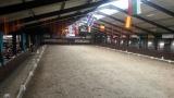 De piste van de HJC-manege, het decor voor Indoor Tolbert